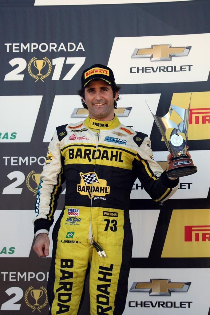 Sérgio Jimenez conquista pódio e sobe na classificação da Stock Car em Santa Cruz do Sul