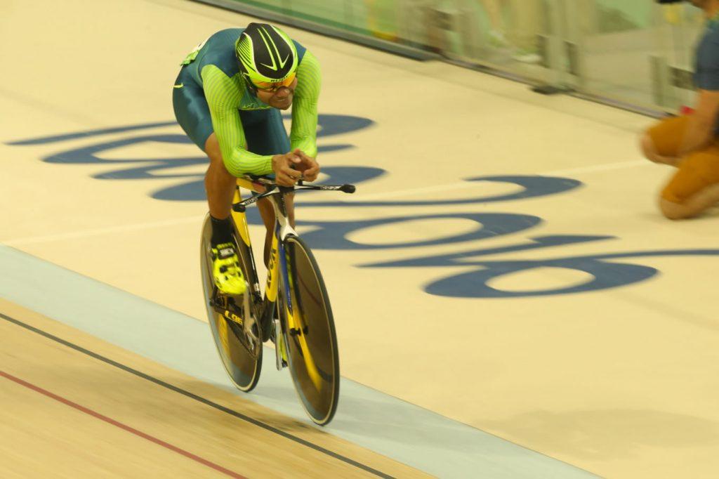 Gideoni Monteiro volta a competir no Velódromo Olímpico do Rio de Janeiro