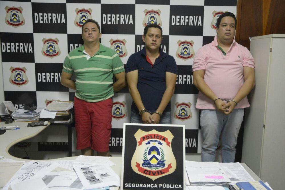 Polícia Civil desarticula quadrilha especializada em financiamentos fraudulentos de veículos no interior do Estado