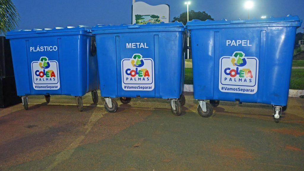 Corrida Palmas 2017 recebe contêiner de programa de coleta de recicláveis