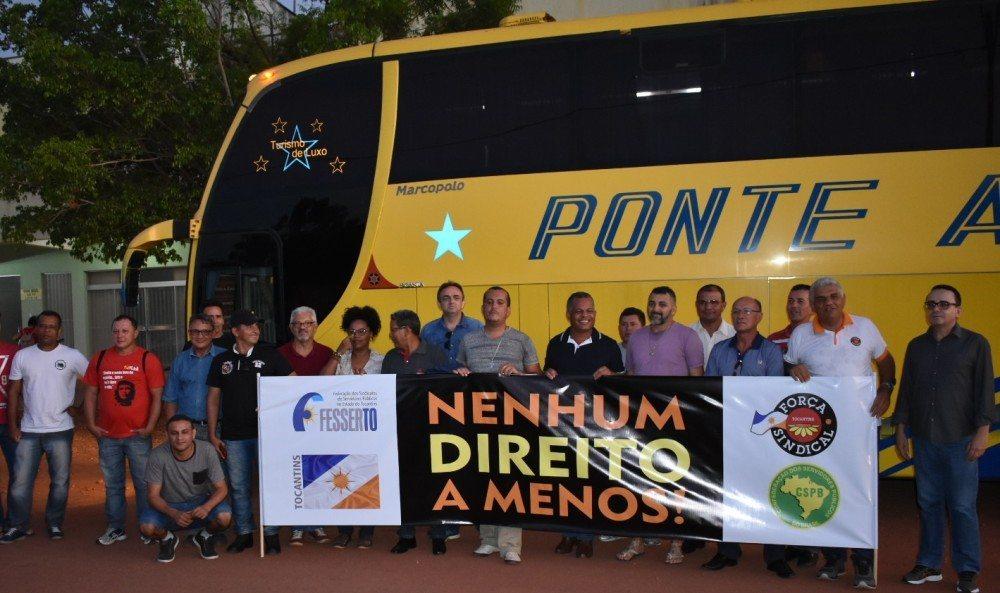 """Força Sindical e Fesserto participam do """"Ocupa Brasília"""" pela permanência de direitos"""