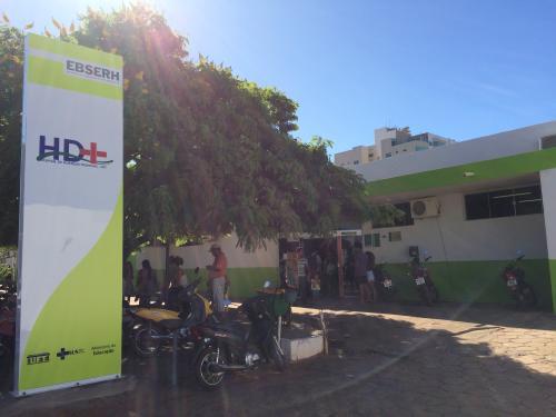 Presidente da Ebserh realiza visita no Hospital de Doenças Tropicais da UFT