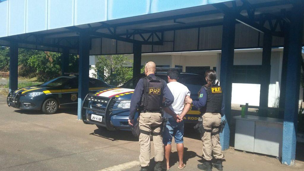 PRF cumpriu nessa manhã dois mandados de prisão
