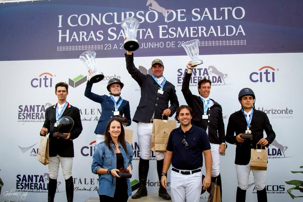 José Reynoso Fernandez Fº, top do Brasil, é o campeão do Clássico no Haras Santa Esmeralda, MG