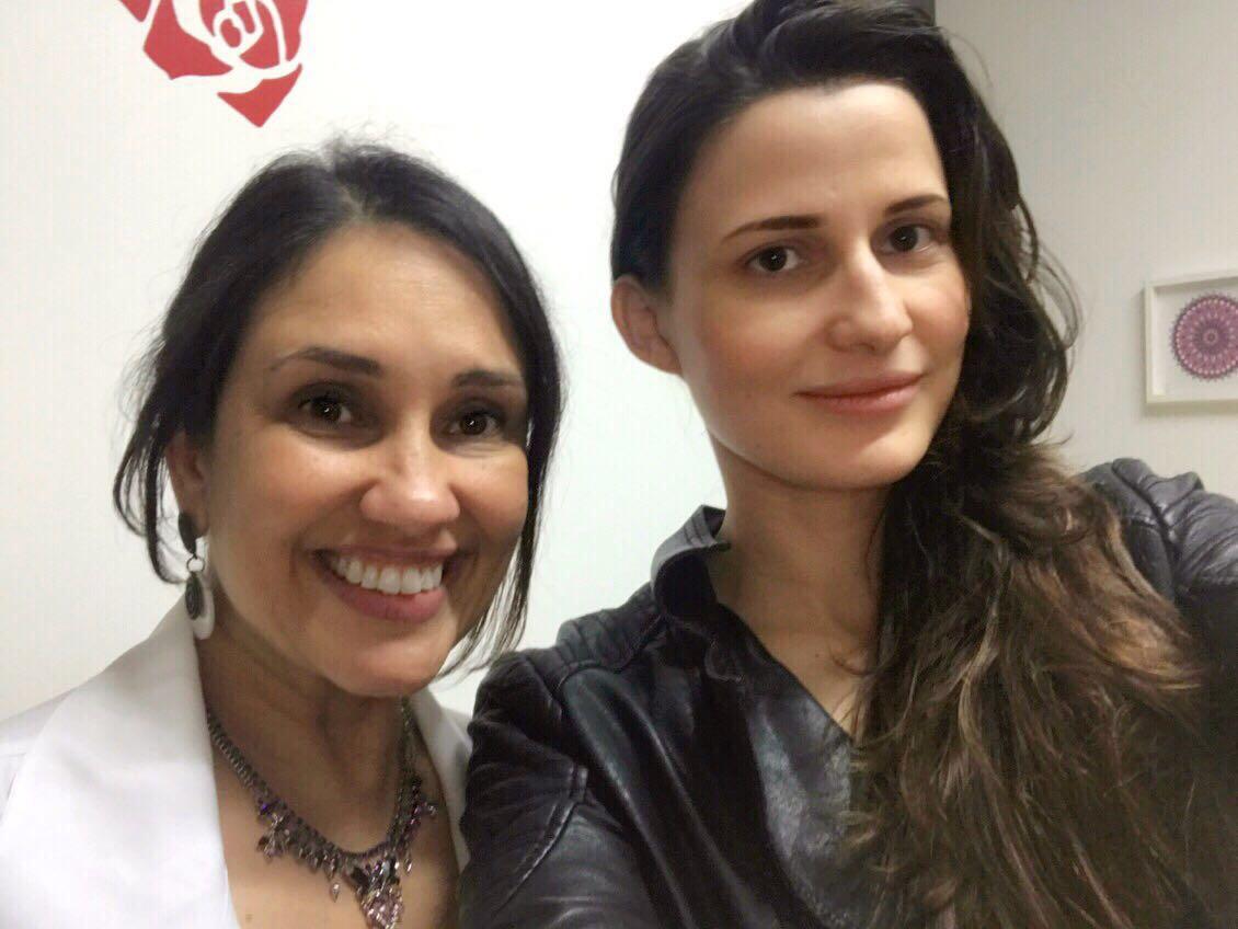 Modelo e atriz Lindy Lopes iniciou um tratamento em centro de Estética