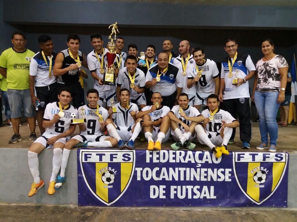 Porto E.C. é campeão da Liga Estadual realizada em Araguacema TO