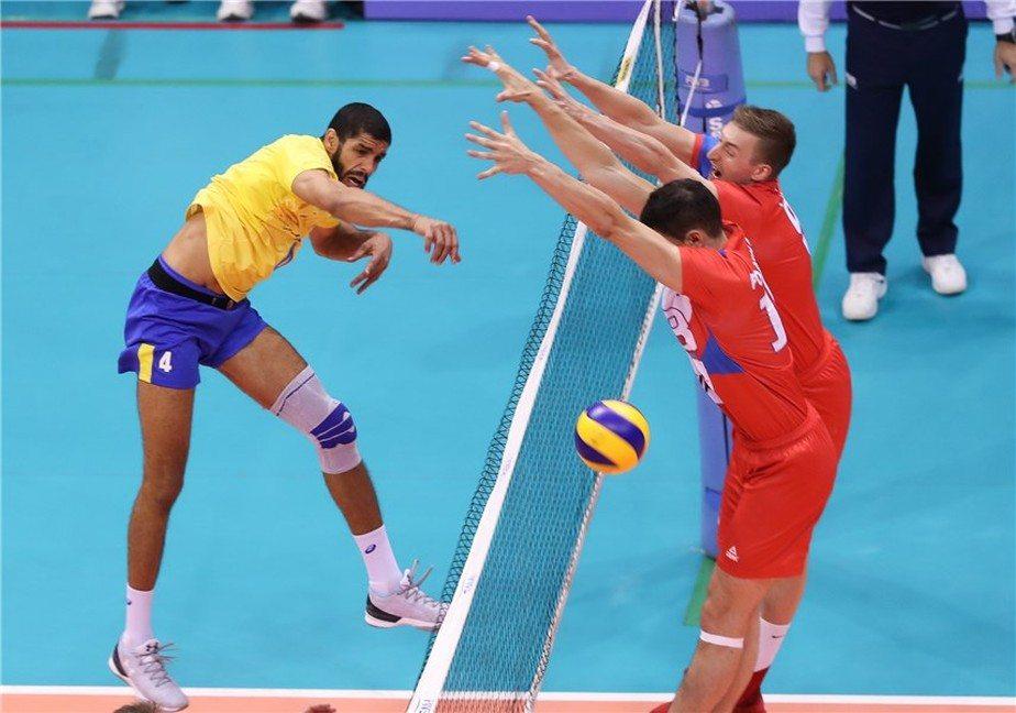 Brasil vence a Sérvia e fecha 1ª fase da Liga Mundial em segundo