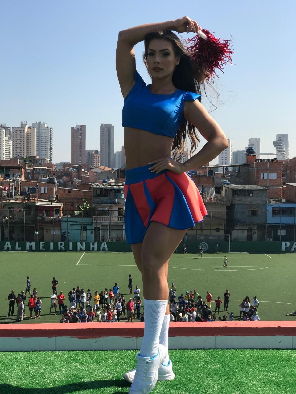 Corinthians tem sua representante mais bonita, Wendy Tavares
