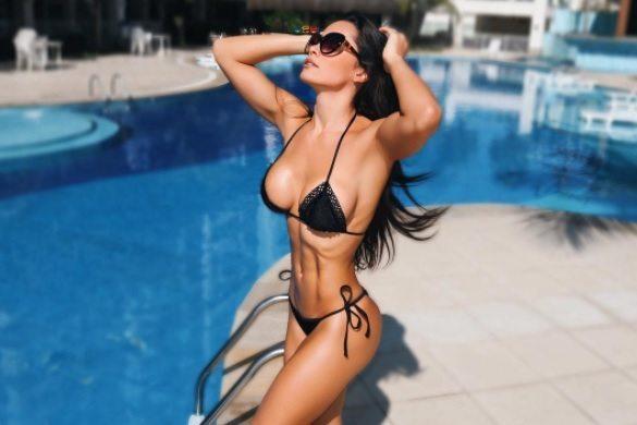 Fernanda D'avila afirma que era complexada por ser muito magra e que personal trainer mudou sua vida