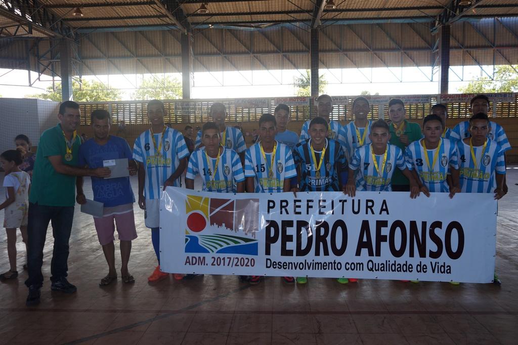 Vasp vence Taça Pedro Afonso de Futsal