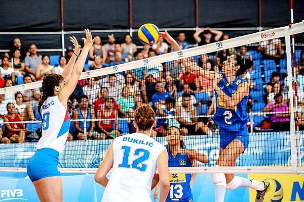 Brasil vence a Sérvia no Mundial Sub-20 Feminino