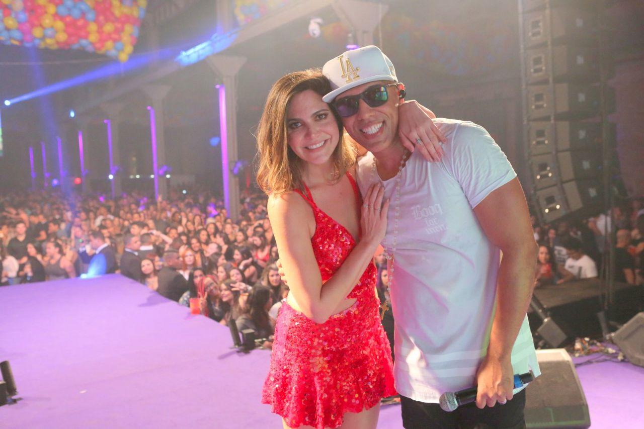 MC Koringa agita 'Baile da Favorita' antes da grande final do 'Super Chef Celebridades'