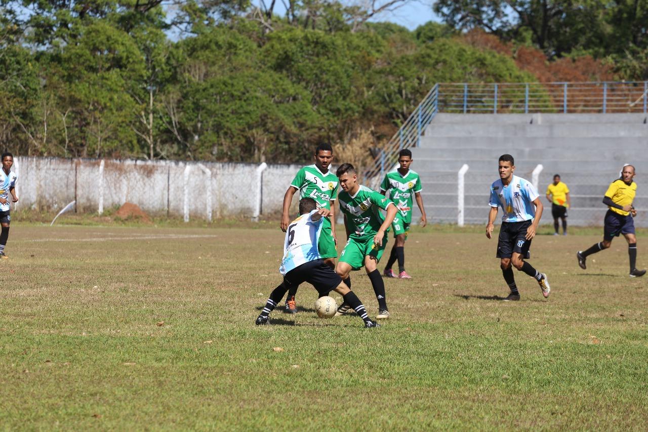 Mais de mil atletas participam dos jogos da 4ª Copa Norte de Futebol de Base