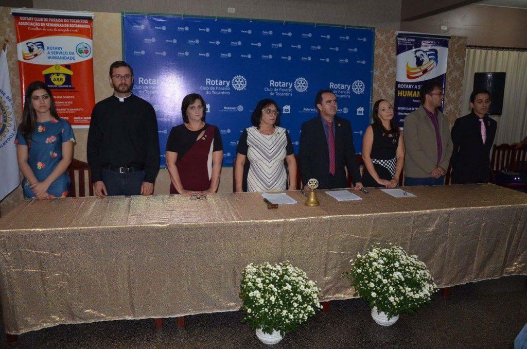 Rotary Club de Paraíso empossa novo Conselho Diretor