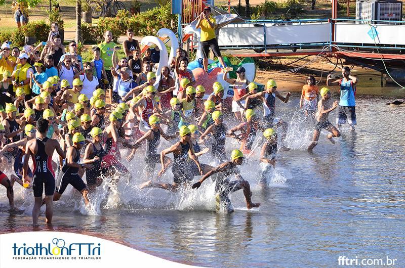 Copa Centro Oeste de triathlon no Tocantins destaca talentos para campeonato brasileiro