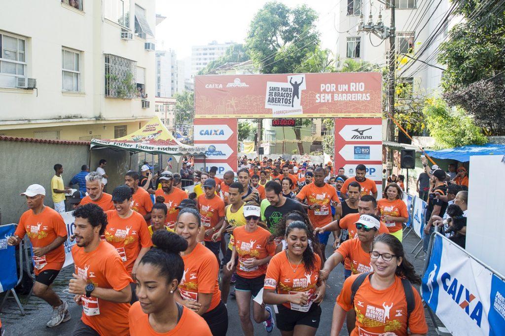 Projeto De Braços Abertos promove corrida em comunidade da Zona Sul