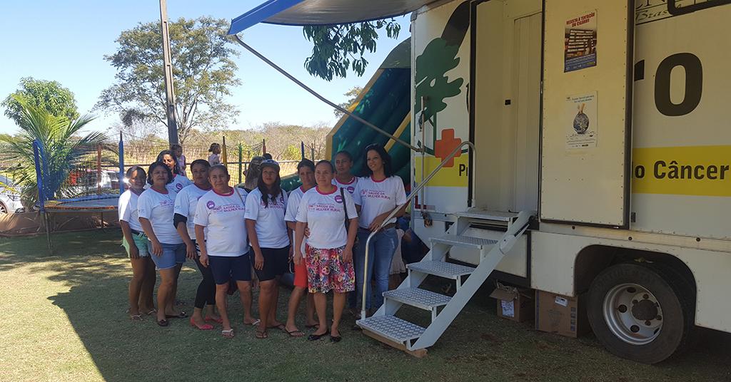 SENAR realiza atendimentos do programa Saúde do Homem e Saúde da Mulher para população do Assentamento Mariana em Taquaralto