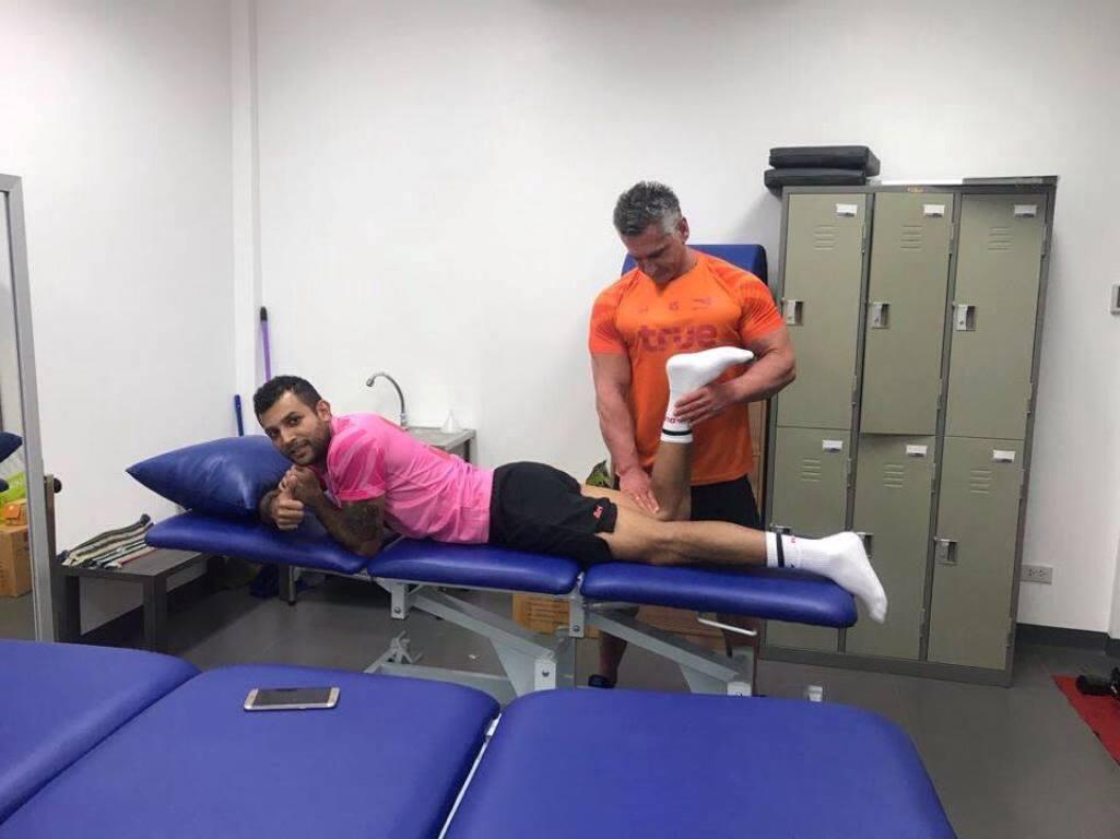 Na Tailândia, Gilberto Macena entra na etapa final da recuperação