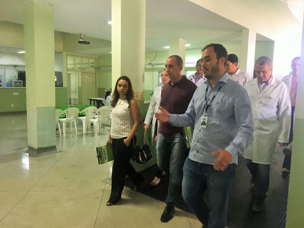 HDT-UFT recebe visita técnica de avaliadores do CNRM para credenciamento de residências médicas