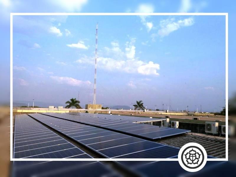 Instalado sistema para gerar energia fotovoltaica no Ceulp/Ulbra