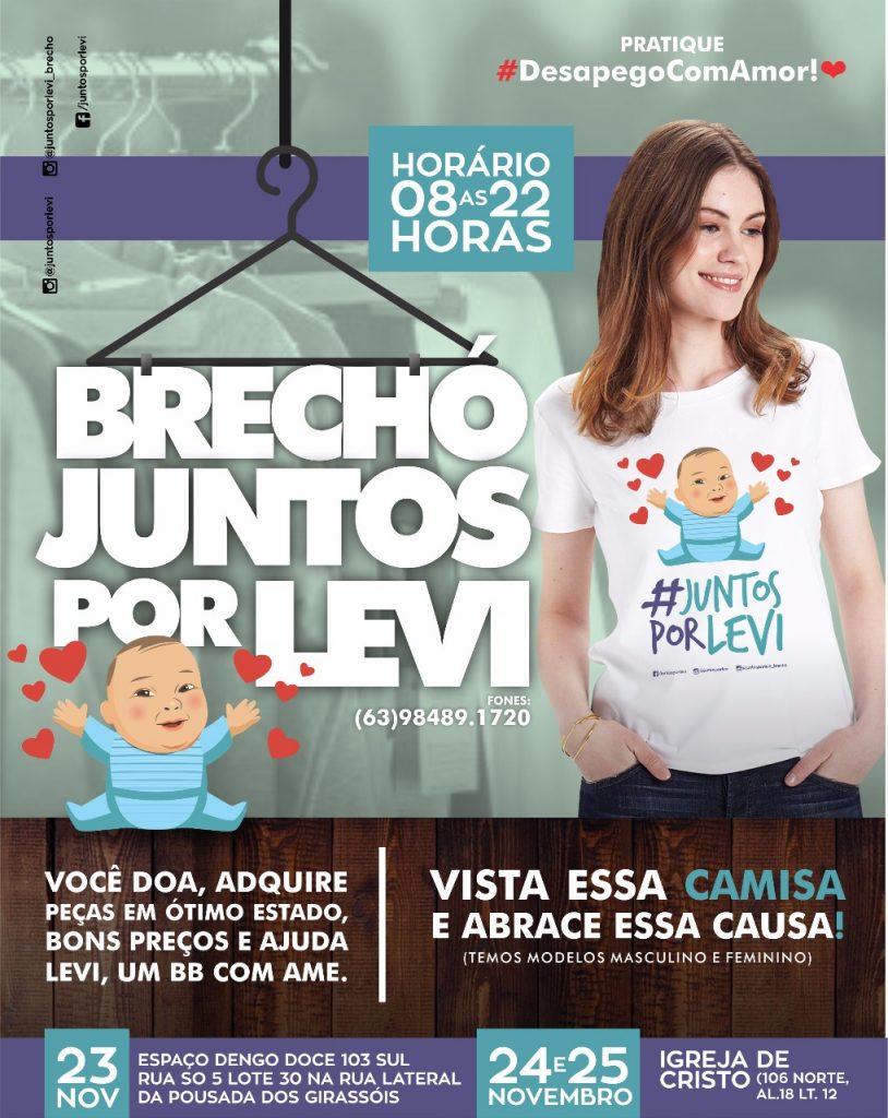 Campanha Juntos por Levi realizará brechó para ajudar a salvar bebê com AME