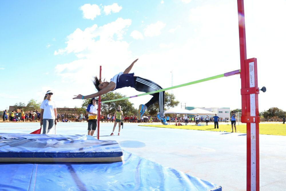 Atleta do Tocantins conquista vaga na final do Salto em Altura nos Jogos Escolares da Juventude