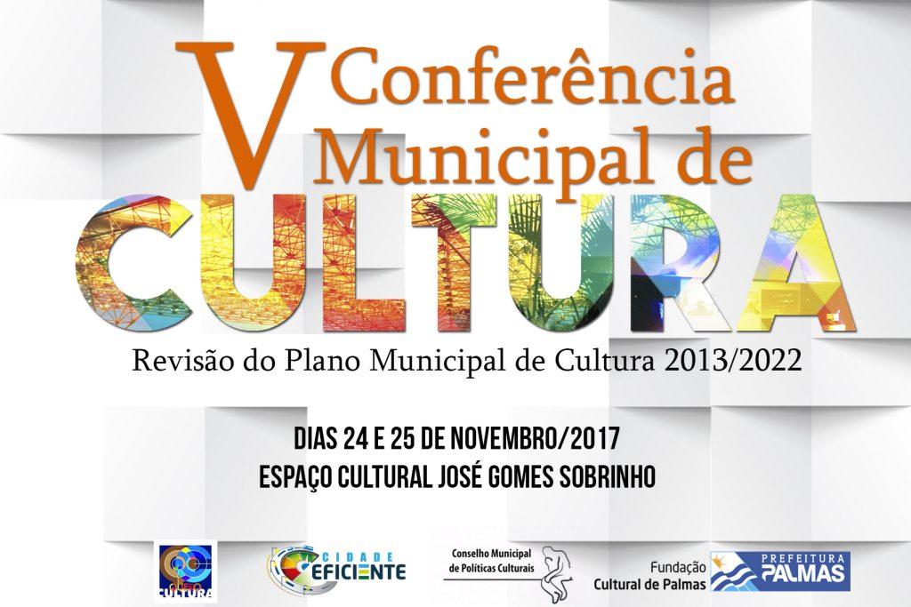 A V Conferência Municipal de Cultura acontece nesta sexta e sábado