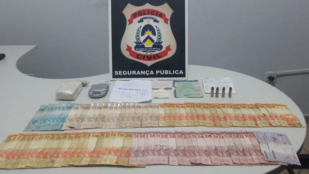 Polícia Civil prende suspeito por tráfico de drogas em Guaraí