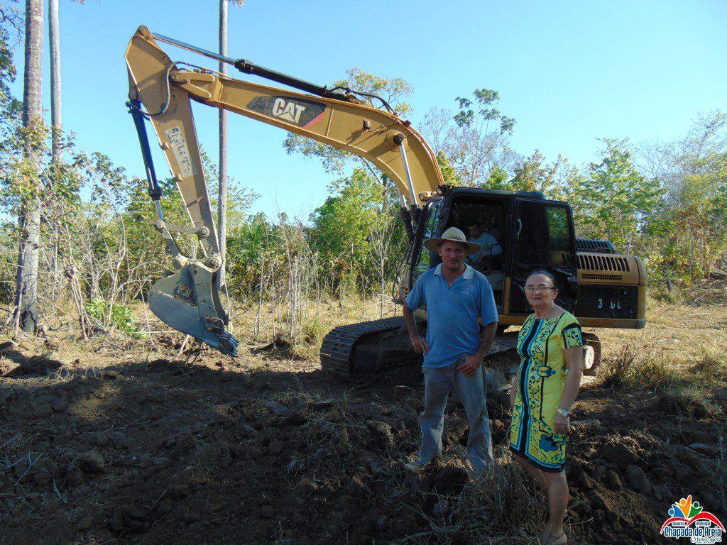 Prefeitura de Chapada de Areia conclui construção de cacimbas e represas no município