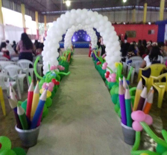 Com lindas comemorações escolas municipais de Cristalândia encerram o ano letivo