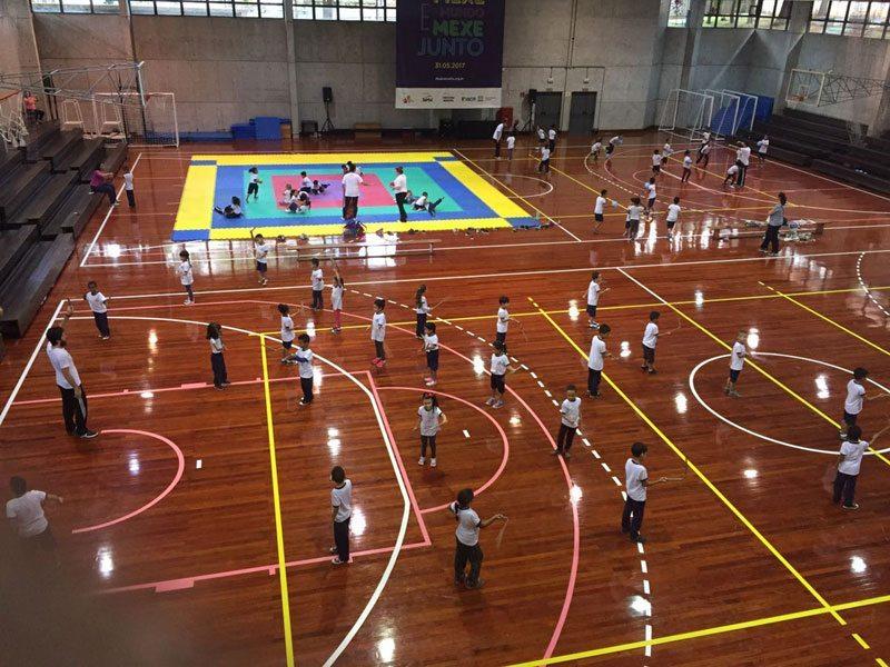 Projeto do IEE, de Ana Moser, promove eventos esportivos em SP e São Sebastião para 230 jovens