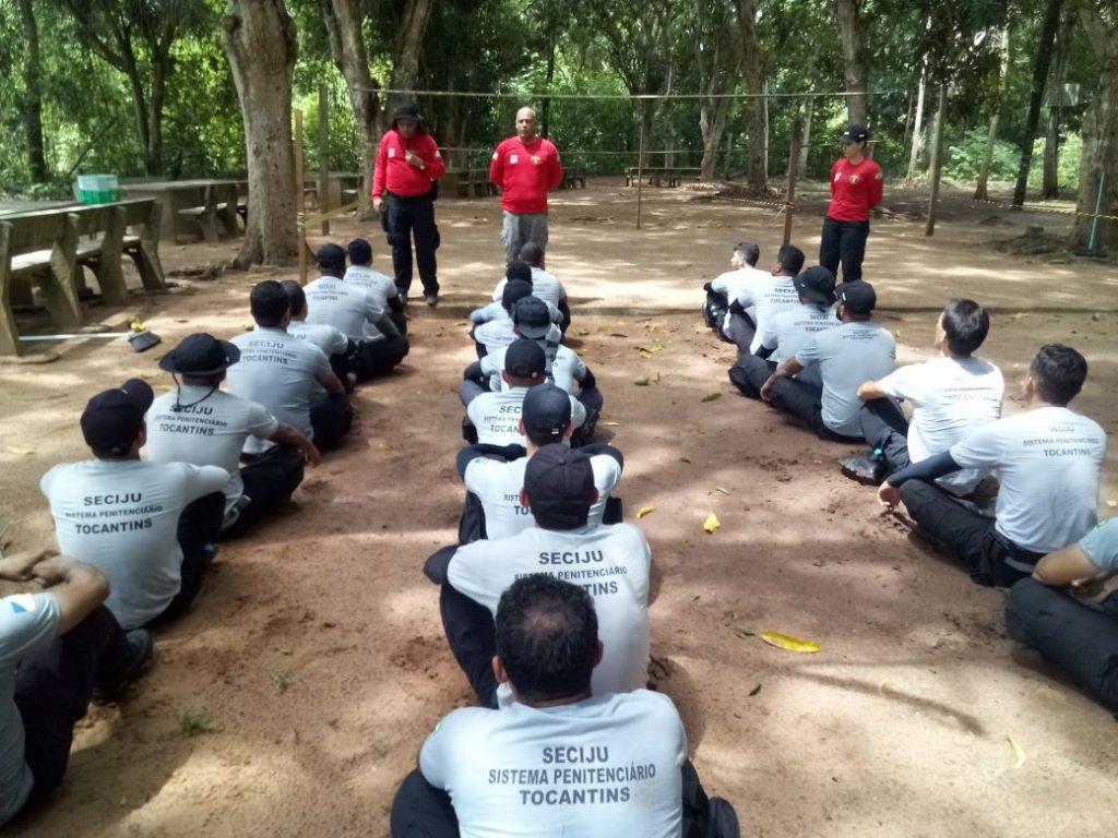Servidores das unidades prisionais do Bico do Papagaio concluem capacitação