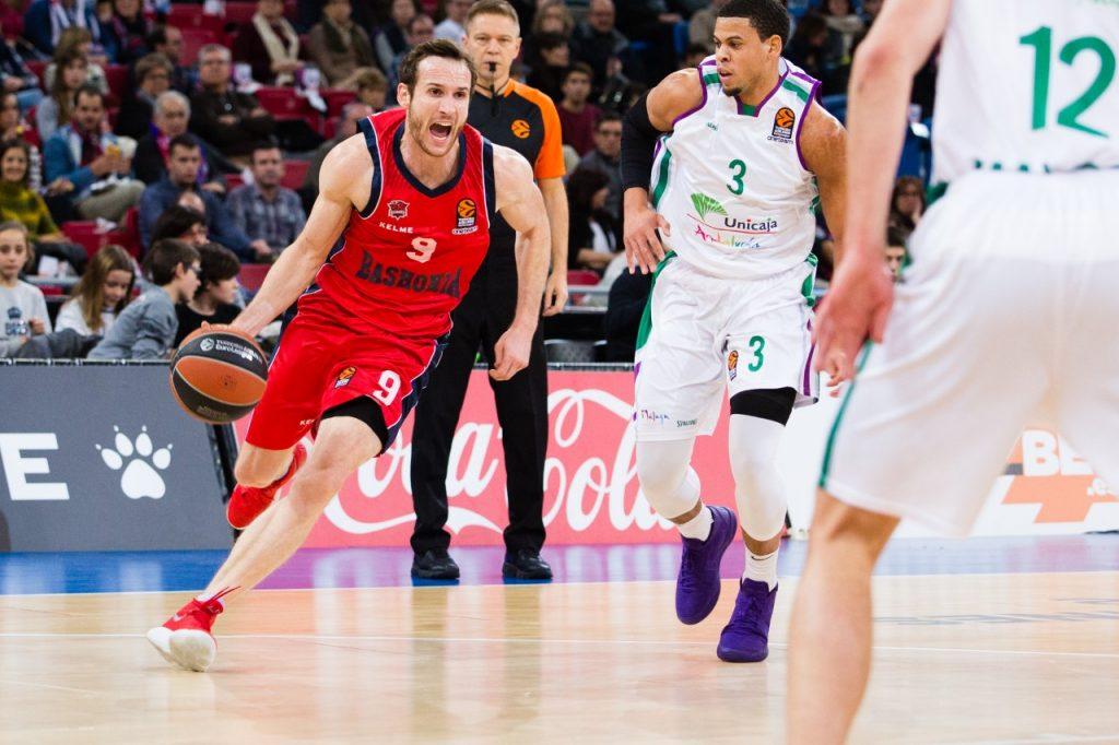 Com Huertas bem, Baskonia vence duelo espanhol e segue crescendo na Euroleague