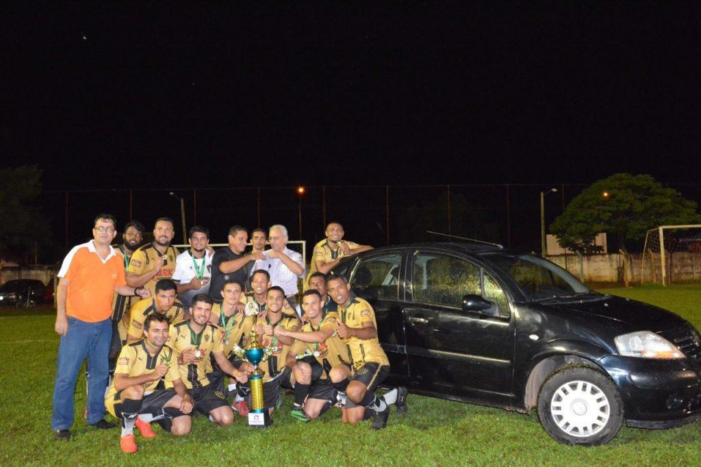 Atlético Aureny é campeão da 1ª Taça Paraíso de Futebol Society