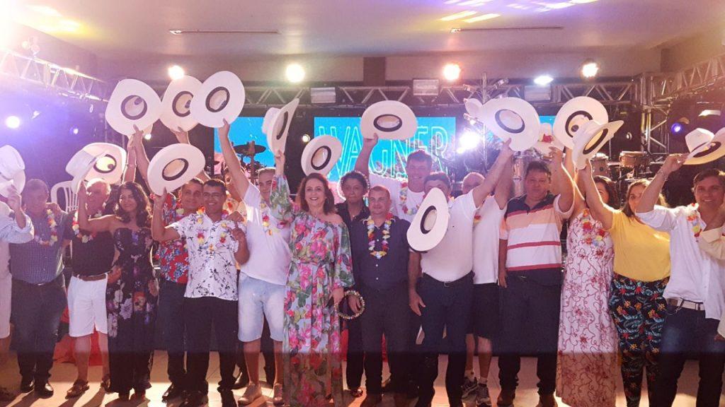 Kátia Abreu reúne presidentes de Sindicatos Rurais de todo o Tocantins em festa de confraternização em Palmas