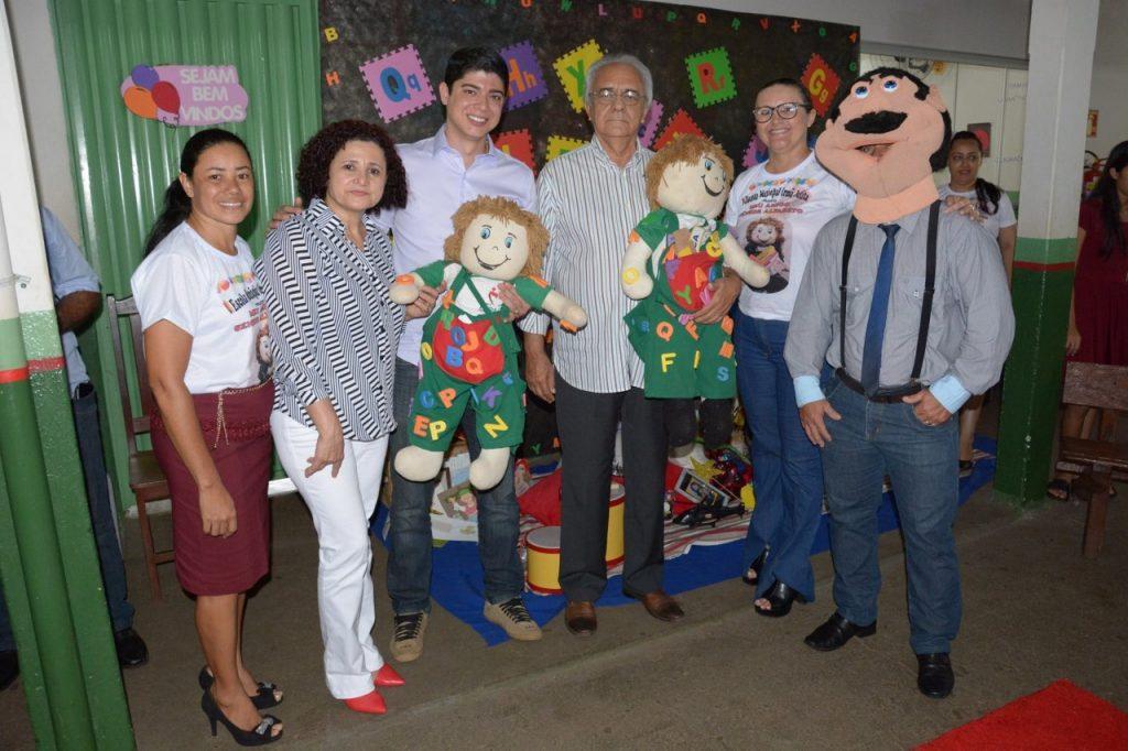 Projeto melhora qualidade da educação infantil na Escola Municipal Irmã Julita