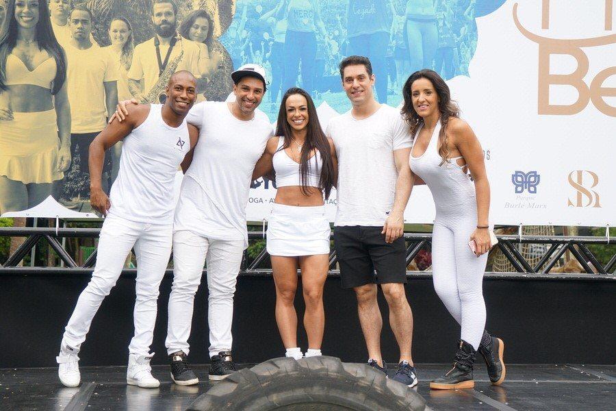 """""""Fit do Bem"""" reúne práticas esportivas e muita solidariedade em São Paulo"""