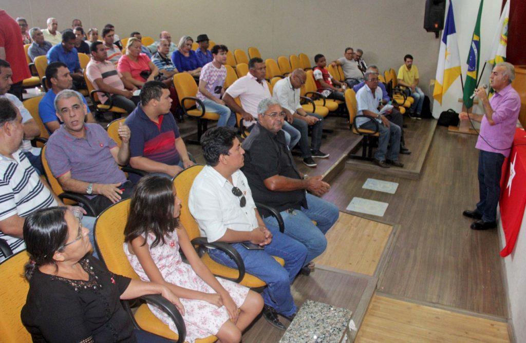 """""""O Tocantins e o Brasil que o Povo Quer"""" encerra primeira etapa por Paraíso e Mourão destaca necessidade de focar esforços em soluções ao estado"""