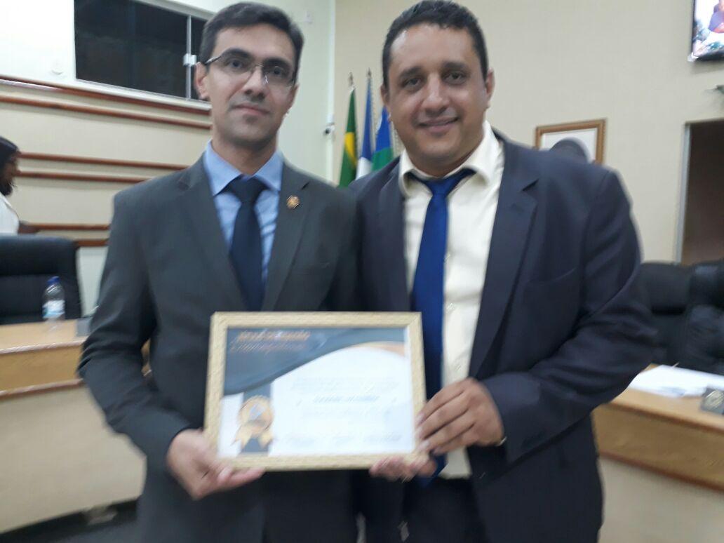 Delegado-Geral da Polícia Civil recebe título de cidadão Dianopolino