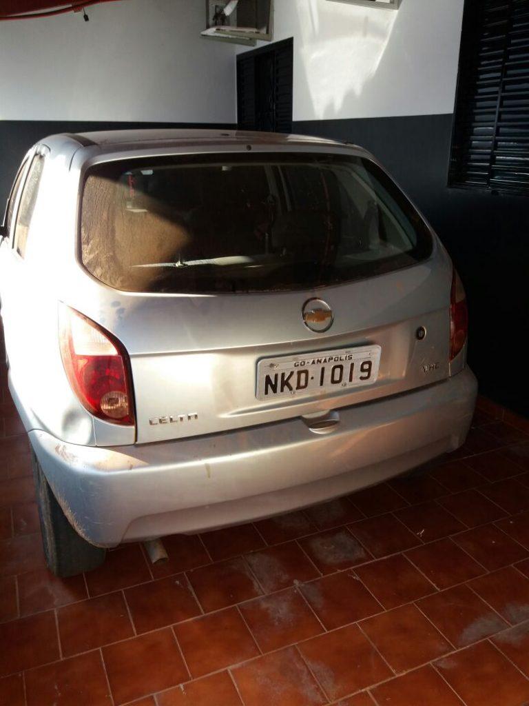 Polícia Civil recupera veículo roubado em Formoso do Araguaia