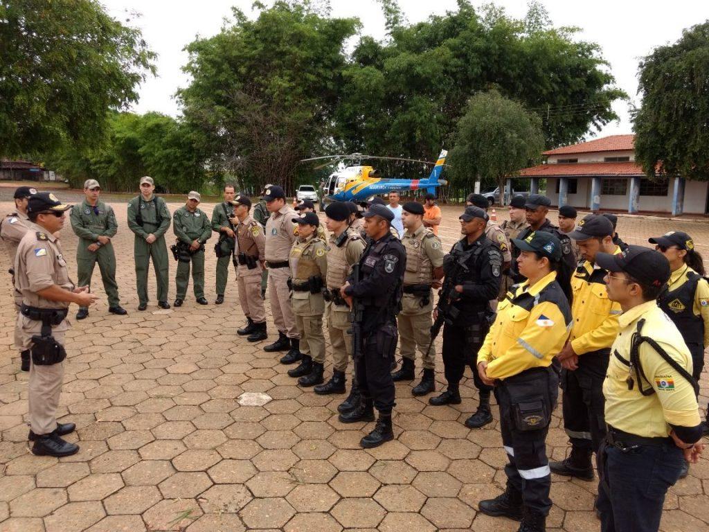 Polícia Militar realiza Operação Sentinela em Araguaína, com apoio do COE, Força Tática, Canil, BPMRED, ASTT, DETRAN e Grupamento de Operações Aéreas da Segurança Pública