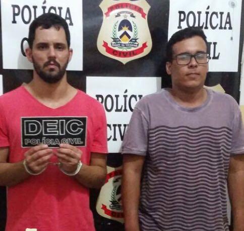 Polícia Civil prende dois suspeitos por tráfico de drogas em Gurupi