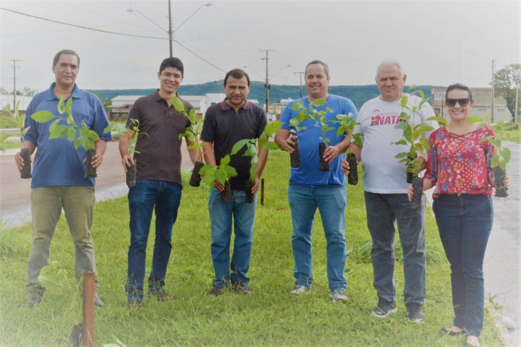 Prefeitura de Paraíso realiza plantio de árvores na região sul da cidade