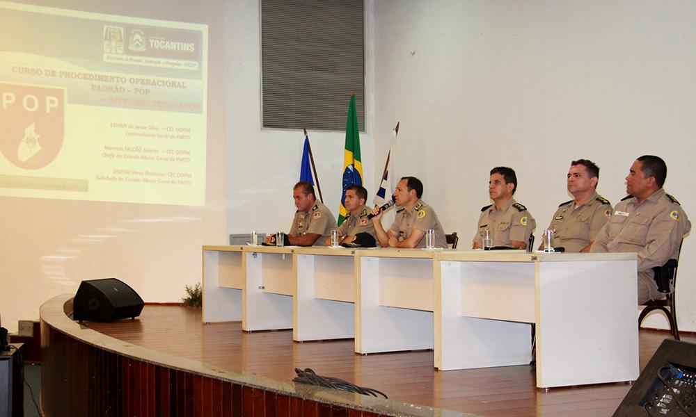 Polícia Militar realiza aula inaugural do Curso de Procedimento Operacional Padrão