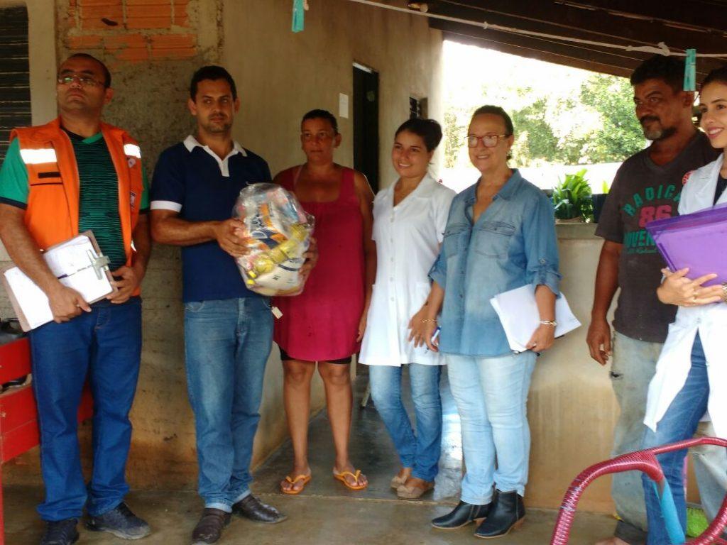 Defesa Civil Estadual realiza visita técnica em Pium