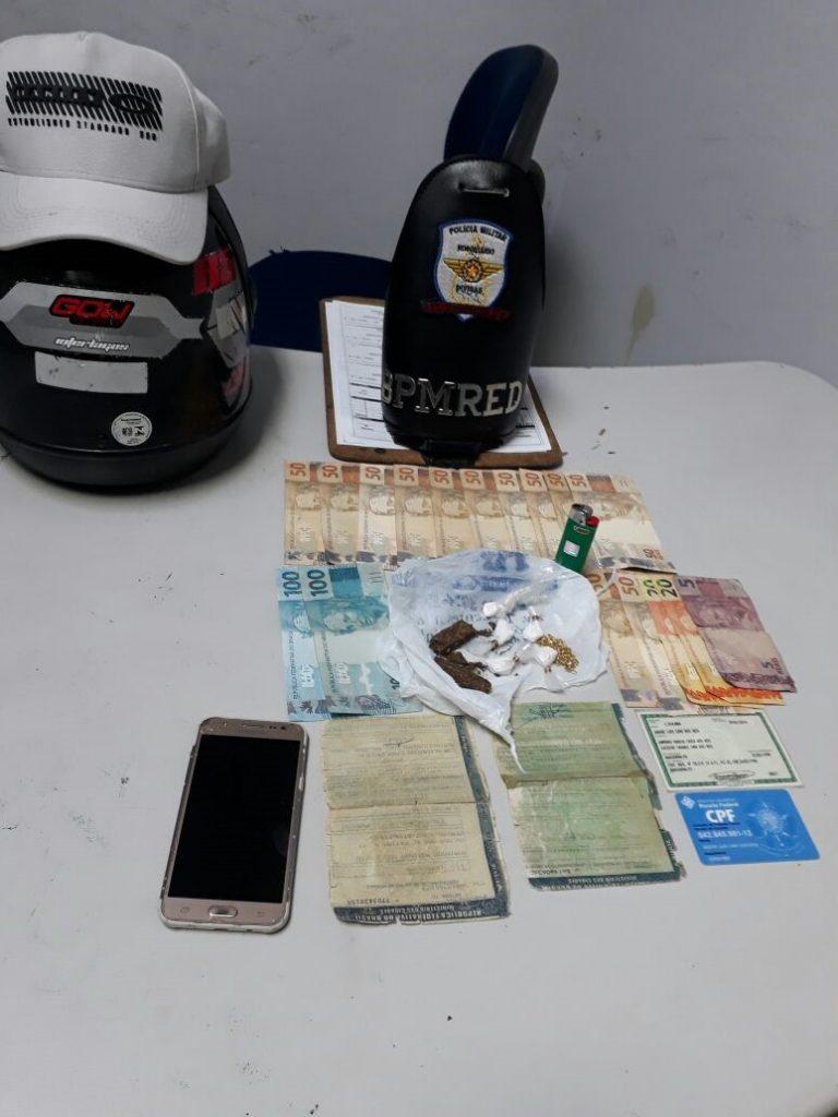 Polícia Militar prende homem por tráfico de entorpecentes em Araguaína