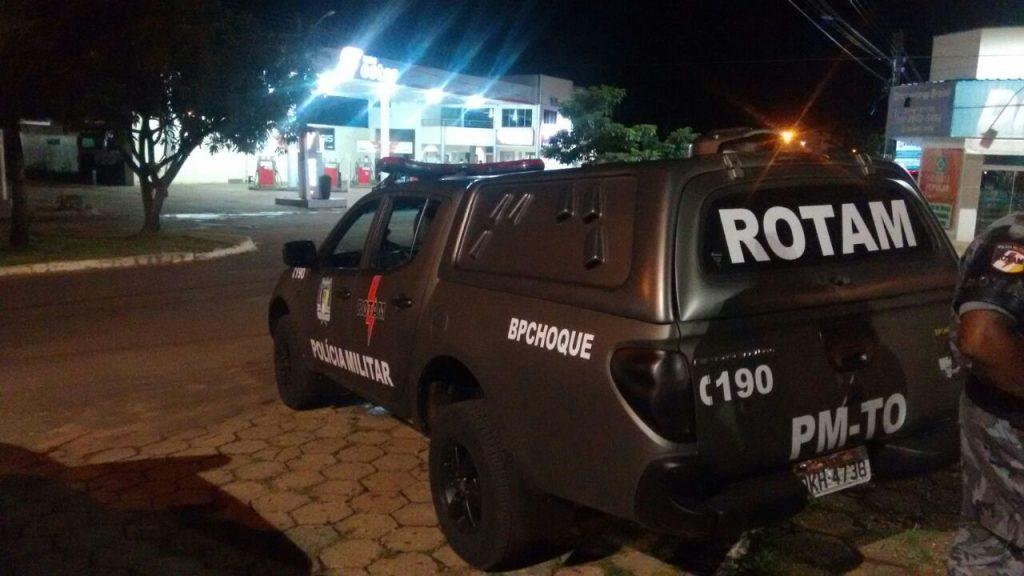 ROTAM contribui com o policiamento em Paraíso do Tocantins