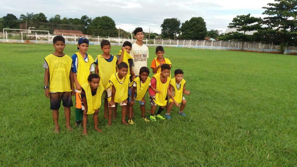 Prefeitura de Caseara inicia atividades da escolinha de iniciação esportiva