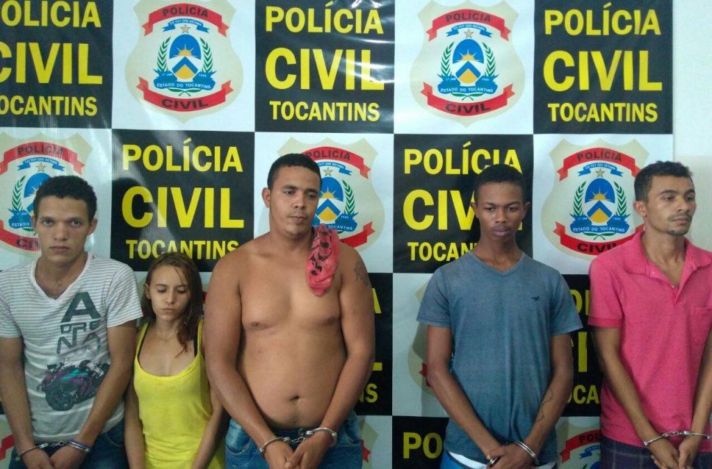 Polícia Civil cumpre Mandado de Busca e Apreensão e prende seis pessoas em Pugmil TO