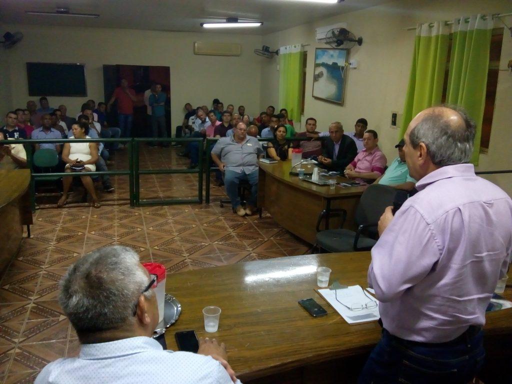 Em Babaçulândia, prefeito, vice e lideranças destacam trabalho de Dimas e pedem investimentos do Estado